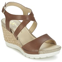 Schuhe Damen Sandalen / Sandaletten Lumberjack SISSI Braun / Beige