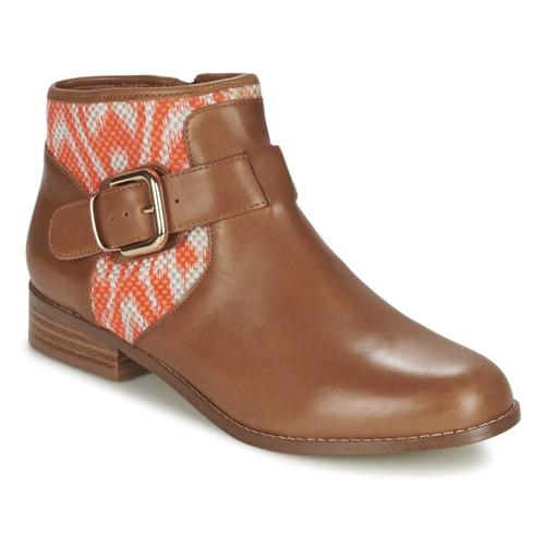 Mellow Yellow VABEL Braun / Orange  Schuhe Boots Damen 103,20