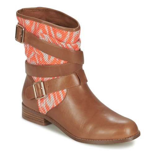 Mellow Yellow VABELO Braun / Orange  Schuhe Boots Damen 74,50