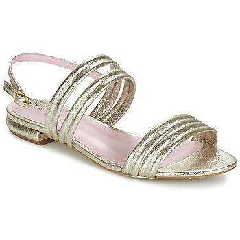 Schuhe Damen Sandalen / Sandaletten Mellow Yellow VEO Gold