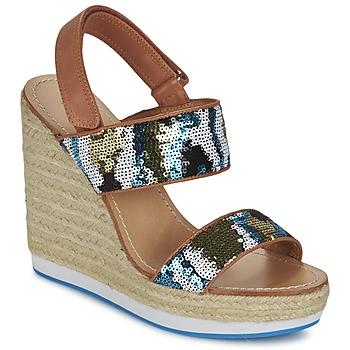 Schuhe Damen Sandalen / Sandaletten Mellow Yellow VABLISS Blau