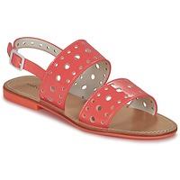 Schuhe Damen Sandalen / Sandaletten Mellow Yellow VADINA Korallenrot