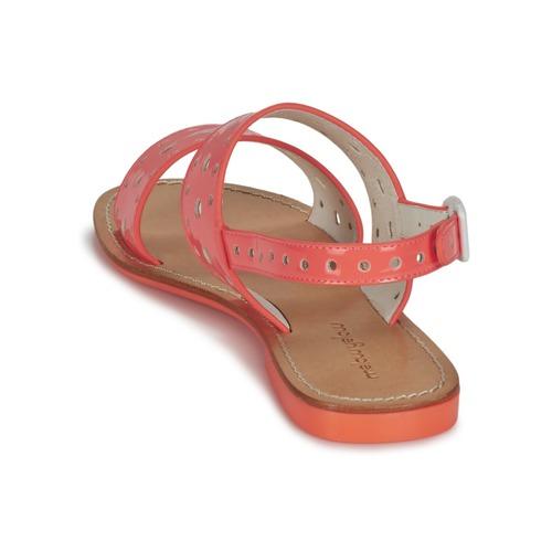 Mellow Yellow VADINA Korallenrot  Damen Schuhe Sandalen / Sandaletten Damen  71,19 f392e2
