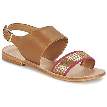 Schuhe Damen Sandalen / Sandaletten Mellow Yellow VADELI Camel