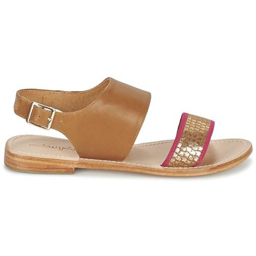 Mellow Sandalen Yellow VADELI Camel  Schuhe Sandalen Mellow / Sandaletten Damen 79,19 7eaa01
