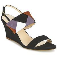 Schuhe Damen Sandalen / Sandaletten Mellow Yellow VEPALE Schwarz