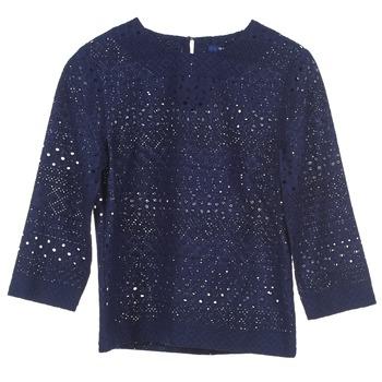 Kleidung Damen Tops / Blusen Gant 431951 Blau