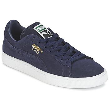 Schuhe Herren Sneaker Low Puma SUEDE CLASSIC + Marine