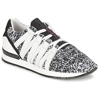Schuhe Damen Sneaker Low Serafini MIAMI Schwarz / Weiss
