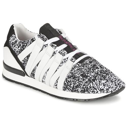 Serafini MIAMI Schwarz / Weiss Schuhe Sneaker Low Damen 113,80