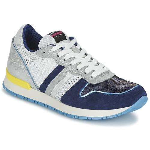 Serafini LOS ANGELES Blau / Weiss  Schuhe Sneaker Low Damen 102,50