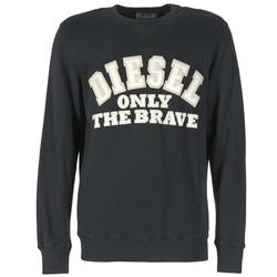 Kleidung Herren Sweatshirts Diesel S-JOE-B Schwarz