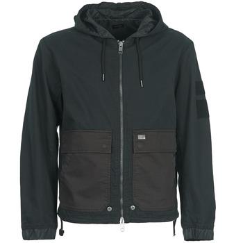 Kleidung Herren Jacken Diesel J-DAN-MIX Schwarz / Braun