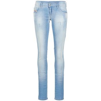 Kleidung Damen Slim Fit Jeans Diesel GRUPEE Blau