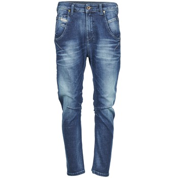 Kleidung Damen Boyfriend Jeans Diesel FAYZA Blau