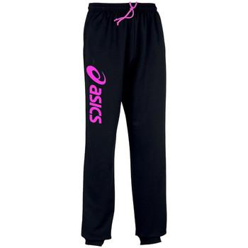 Kleidung Jogginghosen Asics Sigma-Pantalon Black/Flash Pink