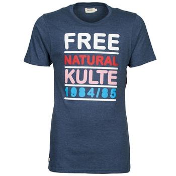 Kleidung Herren T-Shirts Kulte AUGUSTE FREE Blau