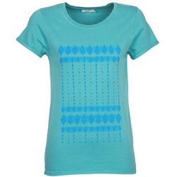 Kleidung Damen T-Shirts Kulte JULIETTE BATIK Blau