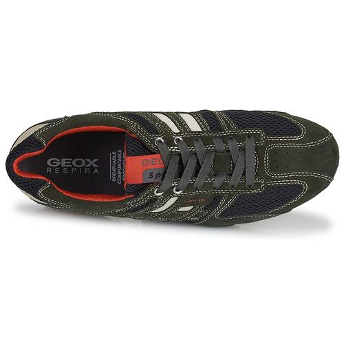Geox SNAKE Grau - Schuhe Sneaker Low Herren 64,74
