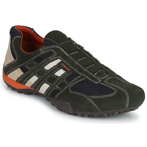 Geox SNAKE Grau  Schuhe Sneaker Low Herren 79,99