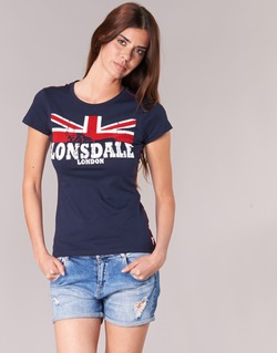 Kleidung Damen T-Shirts Lonsdale ERYKAH Blau