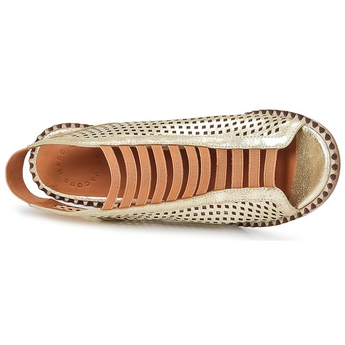 Marc by Marc Jacobs SUSANNA Gold  Schuhe Sandalen / Sandaletten Damen 224
