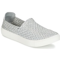Schuhe Damen Sneaker Low Moony Mood ESMINE Silbern