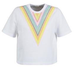 Kleidung Damen Sweatshirts Manoush DOUDOU STAR Weiss