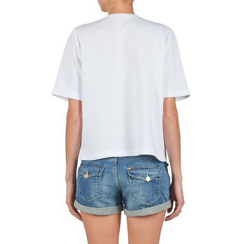 Manoush Doudou Star Weiss - Kostenloser Versand | Kleidung Sweatshirts Damen 16450