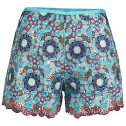 Kleidung Damen Shorts / Bermudas Manoush FRESQUE Blau