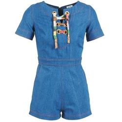 Kleidung Damen Overalls / Latzhosen Manoush LACET Blau