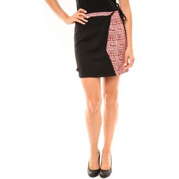 Kleidung Damen Röcke Bamboo's Fashion Jupe BW668 noir Schwarz