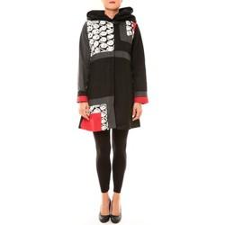Kleidung Damen Mäntel Bamboo's Fashion Manteau BW670 noir Schwarz