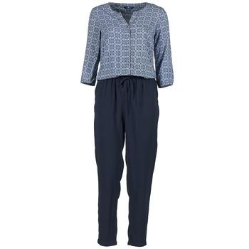Kleidung Damen Overalls / Latzhosen Tom Tailor UVIALA Blau