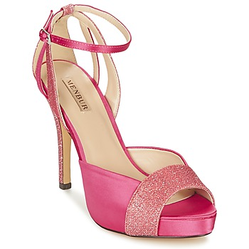 Schuhe Damen Sandalen / Sandaletten Menbur ARENALES Rose
