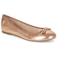 Schuhe Damen Ballerinas Menbur ZINNA Rose / Gold
