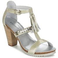 Schuhe Damen Sandalen / Sandaletten Regard ROKOLO Platin