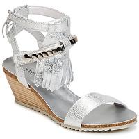 Schuhe Damen Sandalen / Sandaletten Regard RUKO Silbern