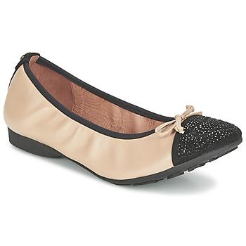 Schuhe Damen Ballerinas Mam'Zelle NUPO Beige / Schwarz