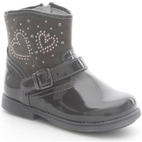 Schuhe Kinder Low Boots Nero Giardini A521290F Stiefeletten Kind Carbone Carbone