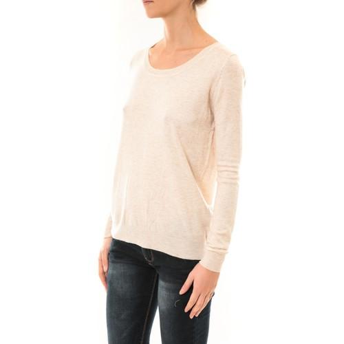 Nina Rocca Pull MC7033 beige Beige - Kleidung Pullover Damen 1400 IAGfg
