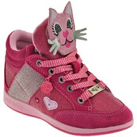 Schuhe Kinder Sneaker High Lelli Kelly Gattino Rosa