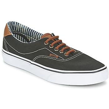 Schuhe Sneaker Low Vans ERA 59 Schwarz / Streifen