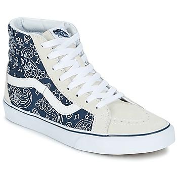 Schuhe Sneaker High Vans SK8-HI REISSUE Blau / Weiss