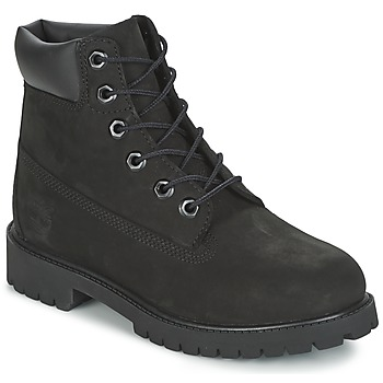 Schuhe Jungen Boots Timberland 6 IN PREMIUM WP BOOT Schwarz