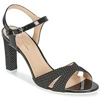 Schuhe Damen Sandalen / Sandaletten France Mode ZEN Schwarz