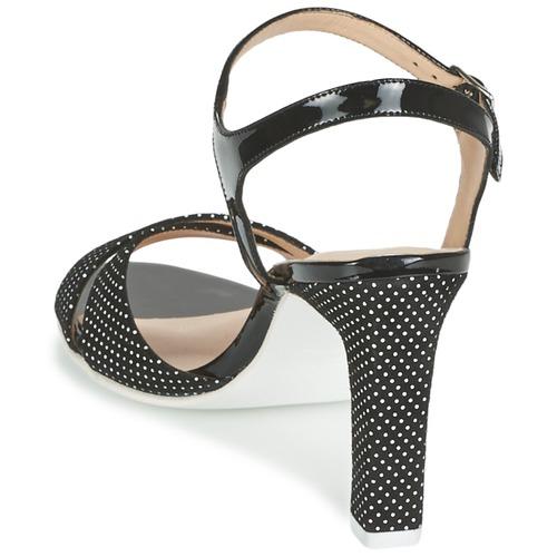 France Mode ZEN Schwarz  Schuhe Sandalen     Sandaletten Damen c5ab9a