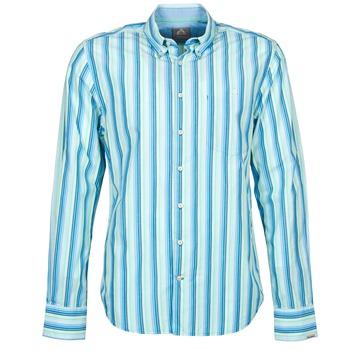 Kleidung Herren Langärmelige Hemden Gaastra SUMMERJAM Blau / Weiss
