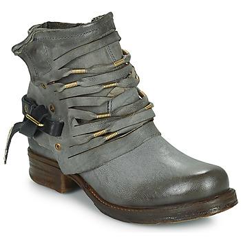 Schuhe Damen Boots Airstep / A.S.98 SAINT Schwarz / Fume