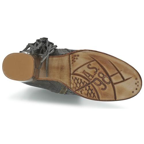 Airstep Schuhe / A.S.98 ODELL Schwarz / Fume  Schuhe Airstep Low Boots Damen 183,20 314dbf